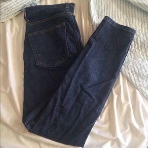 Everlane High Rise Skinny Jeans, size 27